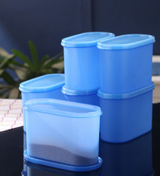 Plastic Kitchen Containers Set Of 6 (Single Available), Capacity: 1200 Ml, Model Name/Number: Ada
