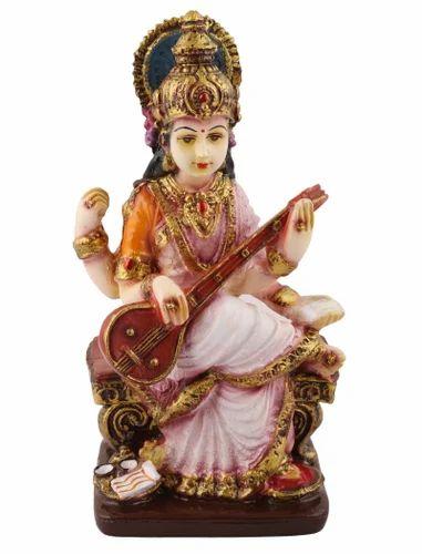 Saraswati Resin God Statue Idol Showpiece Murti Gift At Rs 720