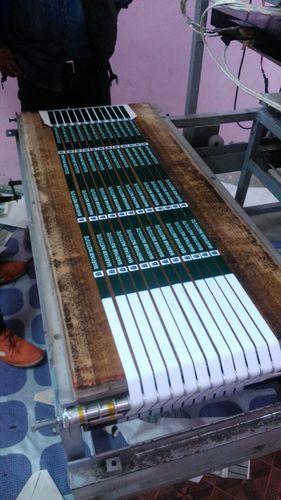 Multicolour Roll To Roll Lanyard Ribbon Printing Machine