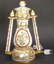 Handicraft Marble Table Lamp