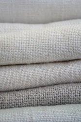 Golden Silk Plain Linen Fabric