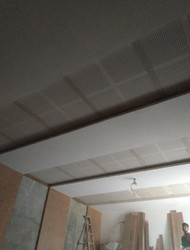 Gypsum Perforated Theater Ceiling Work