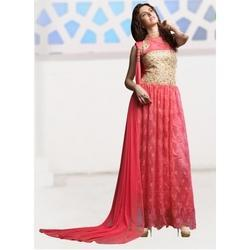 9004254429 Large Ethnic Party Wear Gown, Rs 4800 /piece, Surya Silks India Pvt ...