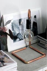 Copper Table Lamp Stand