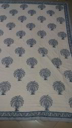Block Print Double Duvet Cover - Quilt