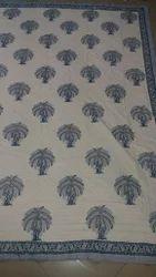 Block Print Double Duvet Cover - Quilt