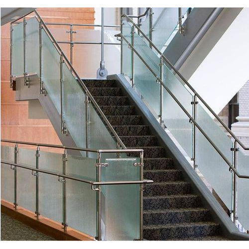 Designer Stainless Steel Stair Grill