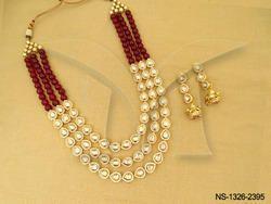 Multi Layer Kundan Necklace Set