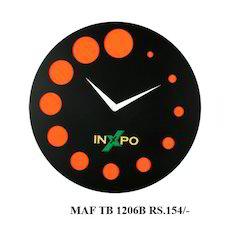 TAF TB 1206B Round Wall Clock
