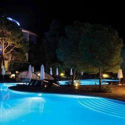 Pool with Lights
