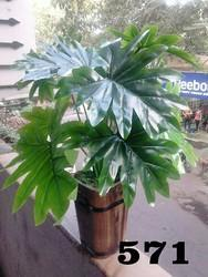Green Plastic Artificial Leaves Code No 93, For Decoration