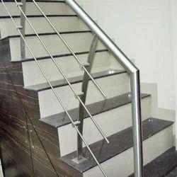 Designer Steel Stair Railing