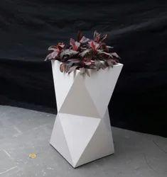Tall Diamond Planter