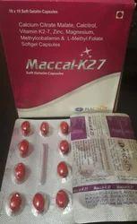 Maccal K 2 7 Softgel Capsule