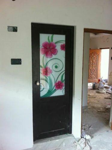 Designer PVC Door At Rs 48 Piece Arumbakkam Chennai ID Custom Bathroom Doors Design