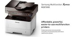 Samsung Mini Xerox Machine - Model M2876ND