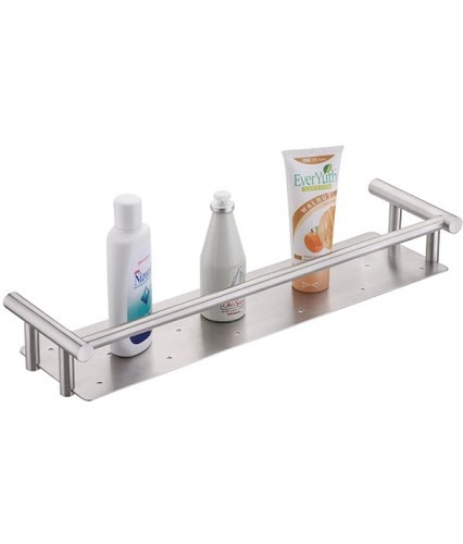 Stainless Steel Bathroom Shelf, Bathroom Corner Shelf, बाथरूम ...