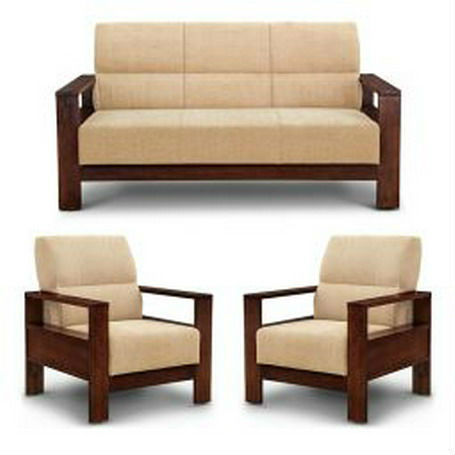 Sofa Wooden Portland Wooden Sofa Set Without Cushion Thesofa
