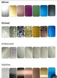 Pvd Color Coated Stainless Steel Sheets