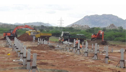 Solar Power Plant Civil Work