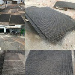 Crimped Spring Steel Wire Mesh, For Industrial, Material Grade: Grade-1