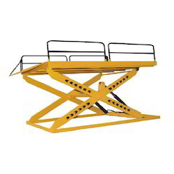 Pit Mounted Scissor Table