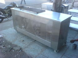 Barbe Que Grill Counter