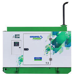 Greaves Power 7.5 kVA Portable Generators, Rated RPM: 3000