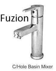 Fuzion Hole Basin Mixer