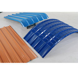 Color Curved Roofing Sheet