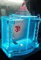Armano 21x21 Glass Mandir