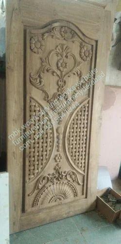 Blog Teak Wood Main Door Design In India: Teakwood Single Main Door At Rs 27000 /piece