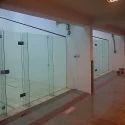 Squash Court Back Wall Glass