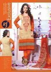 Rajjo Cotton Printed Suit