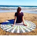 Gypsy Mandala Handmade Cotton Beautiful Round Tapestry