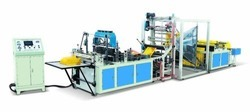 Fully Automatic Non Woven Bag Making Machine, Size: 7600x1650x1800 mm