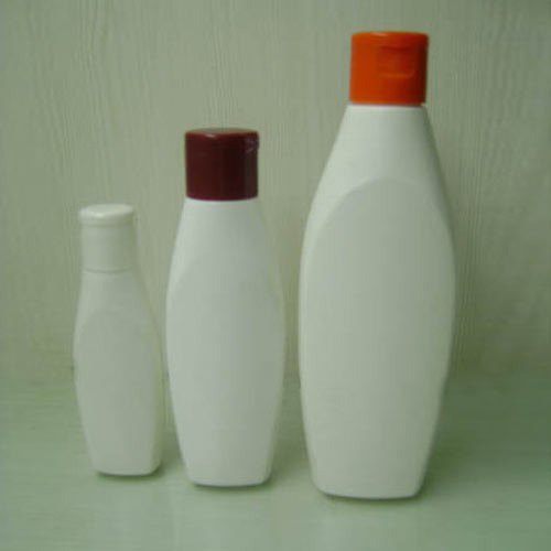 100ml HDPE Venus Bottle with 25mm Flip Top Cap For Cosmetic