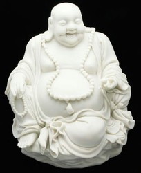 Marble Laughing Buddha