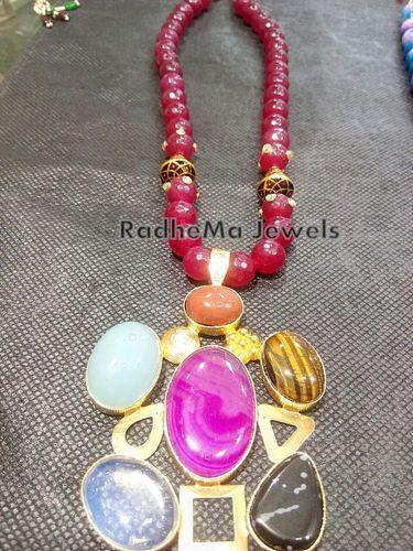 Indo western druzy pendant manufacturer from delhi indo western druzy pendants aloadofball Choice Image