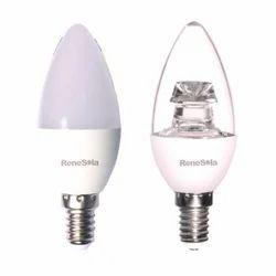 2700-3000 K Renesola LED Candle Bulb, B22