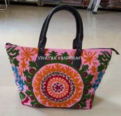 Indian Handmade Suzani Bag
