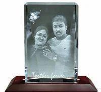 Rectangular Shaped Crystal Photo Frame