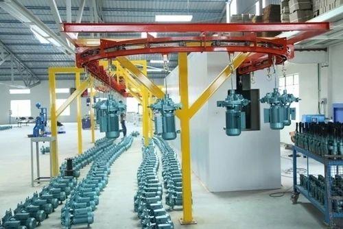 Aluminium Vertical Conveyors Paint Booth Conveyor Rs