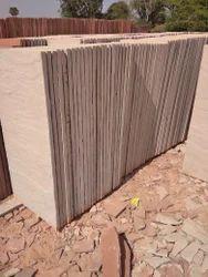 Pink Beige Agra Natural Sandstone Slab, Thickness: 30 mm - 1 inch