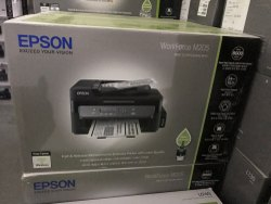 Black & White Inkjet Epson Workface M205, Supported Paper Size: A4, Ink Tank