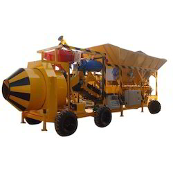Fully Automatic Mobile Concrete Plant
