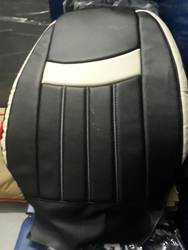 Leather Multi Color Seat Cover