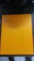 Yello Plain Wedding Card