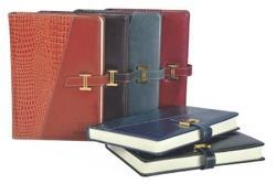 Synthetic Pu Leather Soft Bound Dairy A5 Notebook Diary, For Daily Notes, Yearly