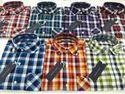 Designer Checked Mens Shirt